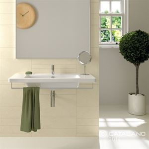 New Light washbasin by Catalano.