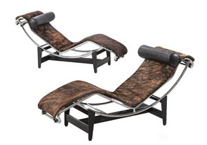 Cassina Chaisse Longue LC4 Pampas LIMITED EDITION